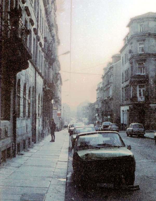 Alaunstraße in den frühen 1990er Jahren