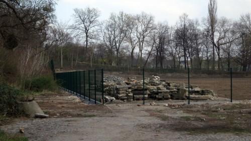 Der Russensportplatz wurde inzwischen ordentlich beräumt.