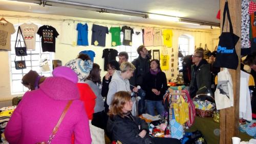 Früher fand das T-Shirt-Festival mal in der Blauen Fabrik statt. Foto: Archiv