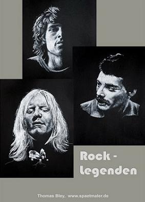 Rocklegenden von Thomas Bley