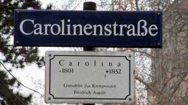 Die Namensgeberin der Straße kam aus Österreich und wurde mit K geschrieben