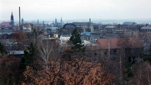 Blick über die Neustadt von der Conradstraße - Foto: Archiv 1994