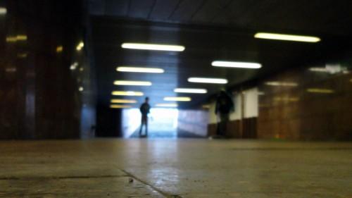 Skateboarder im Tunnel Foto: Archiv/2013