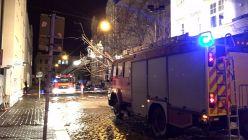 Feuerwehreinsatz auf der Katharinenstraße