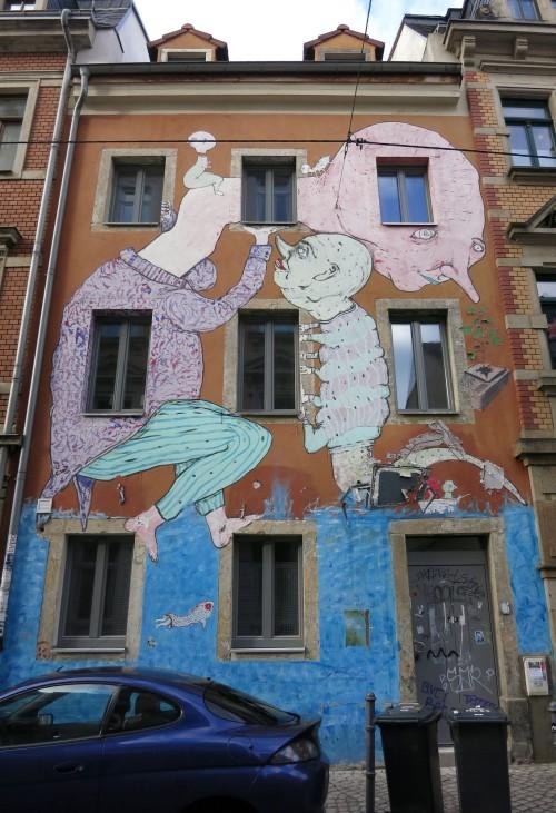 Das Haus in der Martin-Luther-Straße ist ein beliebtes Fotomotiv.