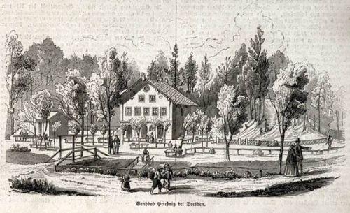 Priessnitzbad um 1870