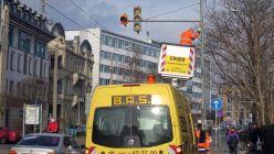 Zusätzliche Fußgänger-Ampel an der Königsbrücker StraßeZusätzliche Fußgänger-Ampel an der Königsbrücker Straße
