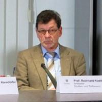 Leiter des Straßen- und Tiefbauamtes Reinhard Koettnitz