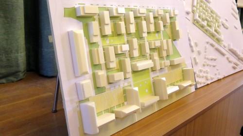 1000 Wohnungen. Modell: Lorenzen Architekten GmbH