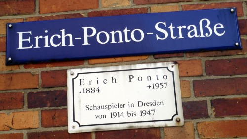 Erich Ponto fand erst 50 Jahre nach seinem Tod seine letzte Ruhestätte in Dresden. Das war 2007.