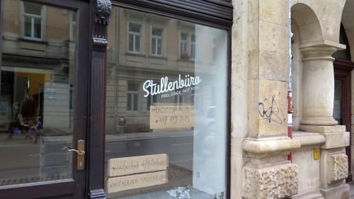 """Ein Stullenbüro für die """"Görlitzer""""."""