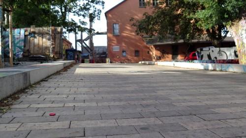 So soll das Pflaster auf dem neuen Platz aussehen.
