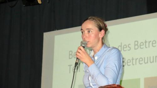 Sozialbürgermeistern Kristin Kaufmann (Linke)