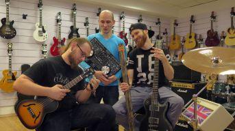 Musikladen-Crew: Eric Noack, Marcus Hanta, Martin Hentschel