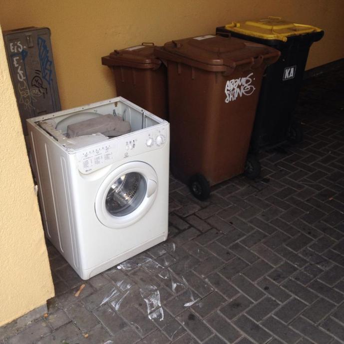 Straßen-Wasch-Gang