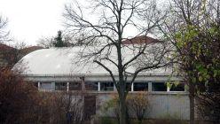 Die alte Turnhalle an der Regenbogenschule