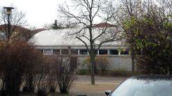 Nicht mehr sanierungsfähig, die Tonnenhalle aus den 1970er Jahren.
