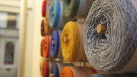 Wolle in Hülle und Fülle im Green Wheel auf der Rothenburger Straße