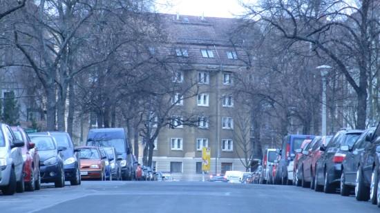 Blick Richtung Bautzner Straße