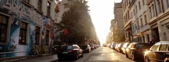 Louisenstraße im Oktober 2012