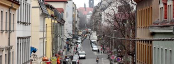 Alaunstraße im November 2012