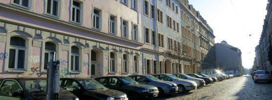 Sebnitzer Straße im März 2013