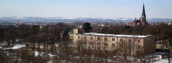 Neustadt von oben im März 2013