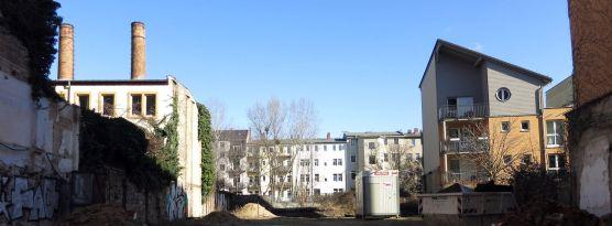 Hof an der Louisenstraße März 2015