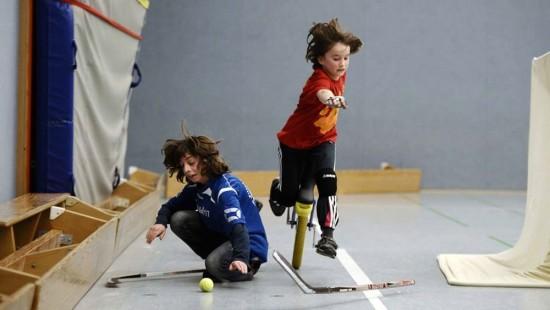 Einradhockey - ein Spiel mit vollem Körpereinsatz - Foto: Matěj Koudelka