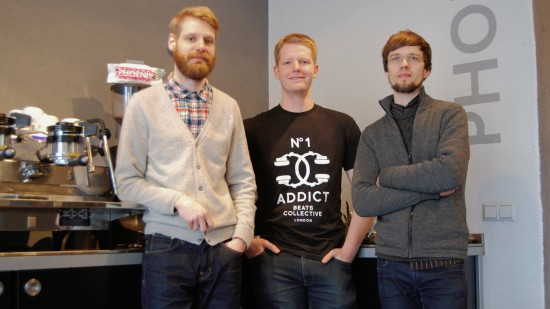 Hauke, Frederick und Lars - die Männer vom Fach für schwarze Kraftbrühe