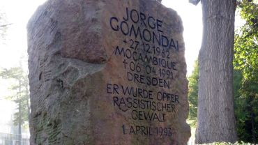 Jorge-Gomondai-Gedenkstein - Foto: Archiv
