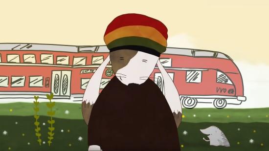 Reggaehase Boooo kommt zum Familienfest der S-Bahn.