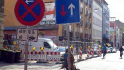Louisenstraße vom 11. bis 22. April gesperrt.