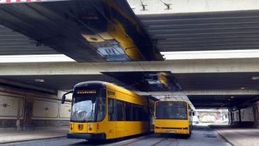 Eisenbahnbrücke an der Hansastraße