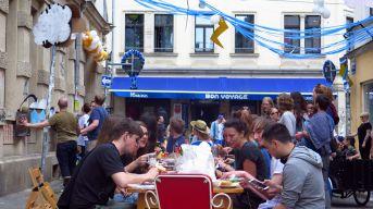 Frühstück auf der Martin-Luther-Straße