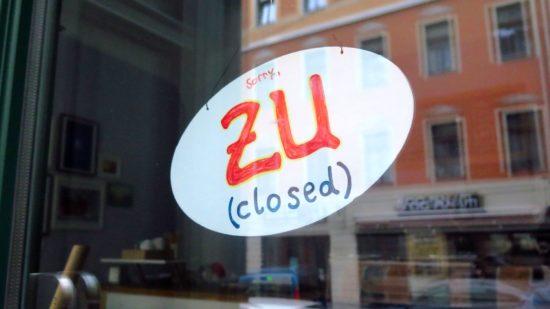Mimi's geschlossen: Seit heute geschlossen: Mimi's
