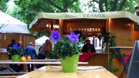 Weinsommer: 17 Weingüter präsentieren sich auf der Hauptstraße.