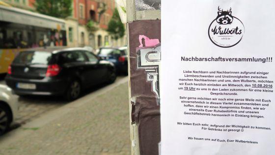 Wulberts: Die Wulbertse wollen mit den Nachbarn reden. Am 10. August.