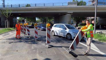 Kurz vor zehn wurde die Hansastraße wieder vierspurig freigegeben.