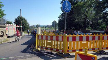 Rad- und Fußweg werden umgeleitet.