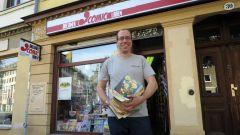 Kann sich freuen: Tobias Reuters Comicladen wird 10!