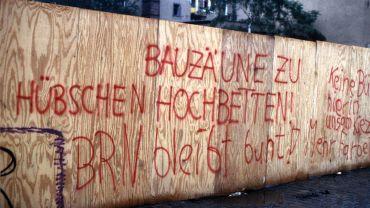 Bauzäune zu Hochbetten - Foto: Lothar Lange