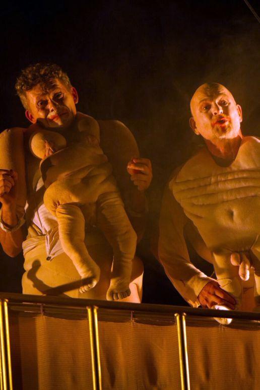 Heiki Ikkola und Dirk Neumann, Szene aus Eldorado - Foto: jsn-media-art