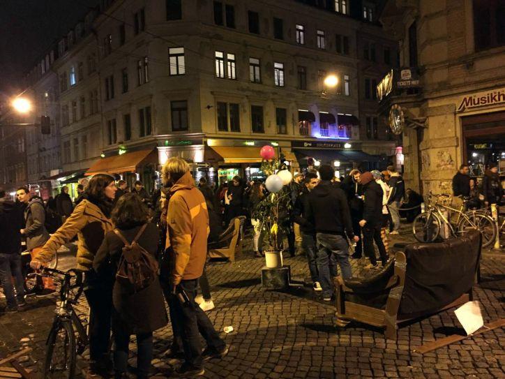 Besetzte Kreuzung - Foto: mg