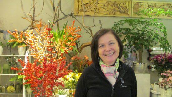 Theresia Schmitz-Möllers bei der Erinnerung an ihre Geschäftsgründung
