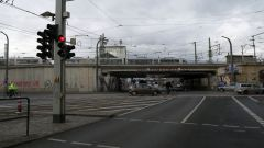 Gleiskreuzung muss ausgetauscht werden.