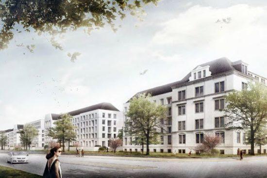 Albertstadt Ost - Entwurf Lorenzen Architekten