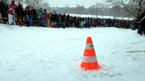 Der Schanzenrekord von 9,50 Meter blieb unerreicht.