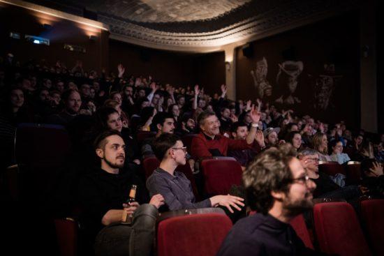 Der Sergio-Leone-Saal war voll - Foto: Carsten Beier