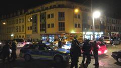 Polizei-Einsatz am Scheunevorplatz
